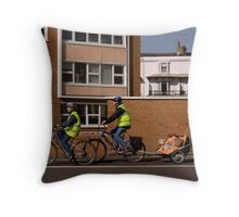 Walkies with a twist Throw Pillow