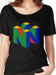 Nintendo 64 Women's Relaxed Fit T-Shirt