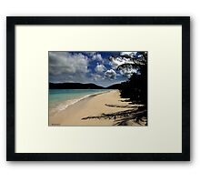 Caribbean View Framed Print