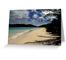 Caribbean View Greeting Card