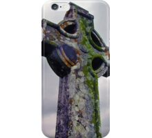 Celtic Cross Headstone Full iPhone Case/Skin
