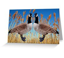 TWINS OF THE MARSH Greeting Card