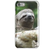 3 Toed Sloth iPhone Case/Skin
