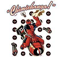 chimichanga Photographic Print