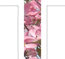 Floral Cross Sticker
