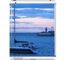 Sailboat in Dublin Bay iPad Case/Skin