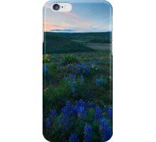 Cowiche Wildflower Sunset iPhone Case/Skin