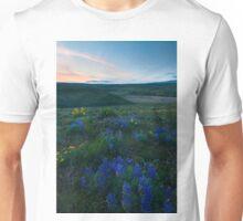 Cowiche Wildflower Sunset Unisex T-Shirt