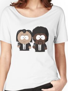 South Park Pulp Fiction Women's Relaxed Fit T-Shirt