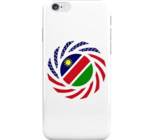 Namibian American Multinational Patriot Flag Series iPhone Case/Skin