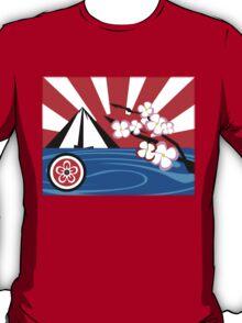 Mt. Fuji w/Cherry Blossoms T-Shirt