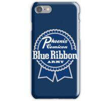 Blue Ribbon Army iPhone Case/Skin