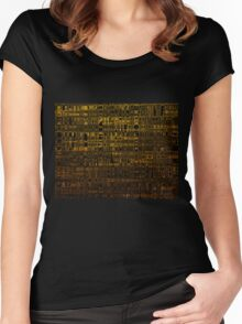 Golden Totem iPhone / Samsung Galaxy Case Women's Fitted Scoop T-Shirt