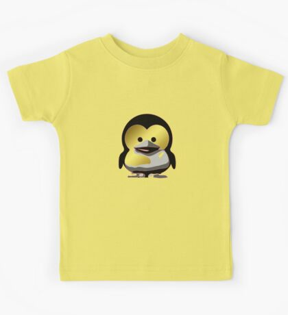 Linux Baby Tux d'Or Kids Tee