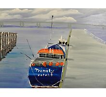 Trinity Long Line Fishing Trawler out San Remo Photographic Print