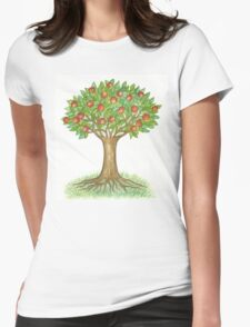 UNIQUE APPLETREE WITH RIPE APPLES  T-Shirt