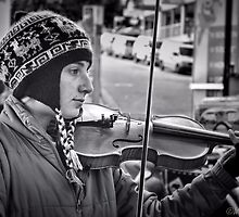 The Music Maker by wallarooimages