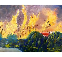 Fire Storm Photographic Print