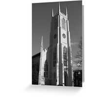 MT HOLLY CHURCH Greeting Card