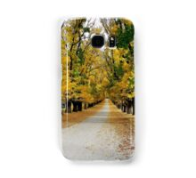 Autumn at the winery Samsung Galaxy Case/Skin