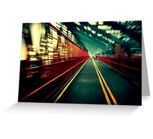 Williamsburg Bridge Greeting Card