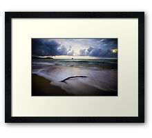 Crack of Reality Framed Print