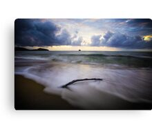Crack of Reality Canvas Print