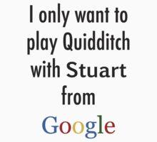stuart from google Kids Tee