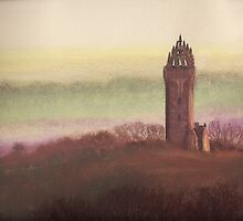 Wallace Monument, Stirling, Scotland by MagsWilliamson