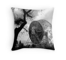 RADIO TELESCOPE DISH Throw Pillow
