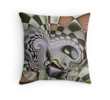 Self Portrait On A Good Day Throw Pillow