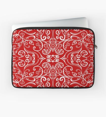 Silent Era, Red Laptop Sleeve