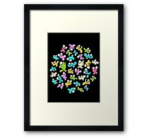 Happy Fish Again Framed Print