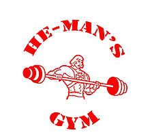 He-Man's Gym by TejeshwarG