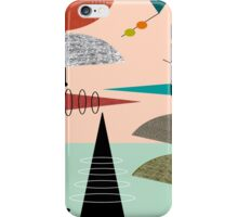 Mid-Century Modern Abstract #39 iPhone Case/Skin