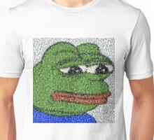 Sad Pepe Collage Unisex T-Shirt