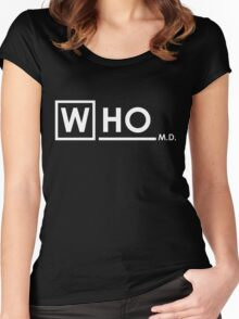 Doctor Who MD Women's Fitted Scoop T-Shirt