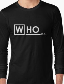 Doctor Who MD Long Sleeve T-Shirt