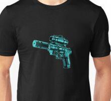 The Turquoise Gun Unisex T-Shirt