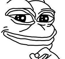 Smug Pepe by jamsbrah