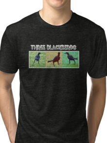 WE THREE BLACKBIRDS Tri-blend T-Shirt