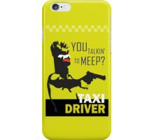 beeker  vs taxidriver iPhone Case/Skin