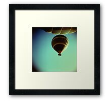 The face of evil is always the face of total need Framed Print