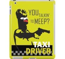 beeker  vs taxidriver iPad Case/Skin