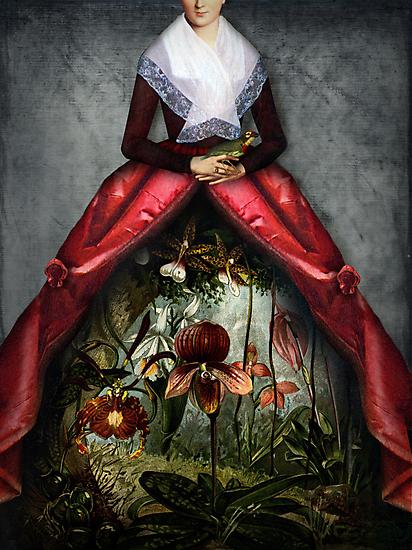 Her garden by Catrin Welz-Stein