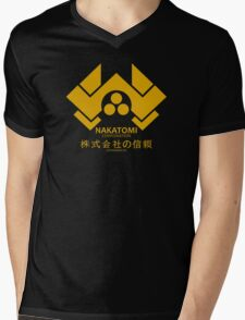 Nakatomi Mens V-Neck T-Shirt