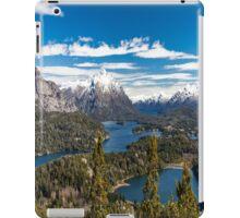 Lake Nahuel Huapi and mountains (Patagonia - Argentina) iPad Case/Skin