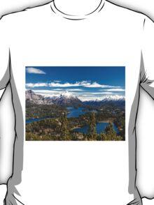 Lake Nahuel Huapi and mountains (Patagonia - Argentina) T-Shirt