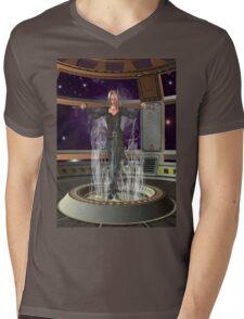 Time Traveler  Mens V-Neck T-Shirt