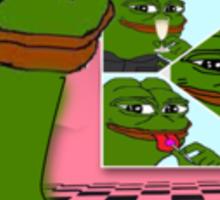 Macintosh Pepe Sticker